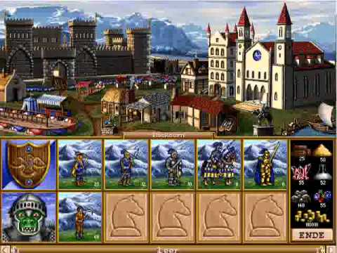 Heroes of Might and Magic 2 Soundtrack - Knight Town Theme