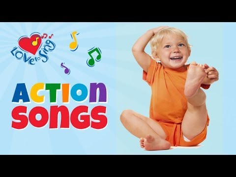 Hearty Fun Kids Action Song - Children Love to Sing Kids Songs