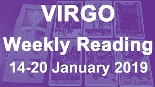 VIRGO WEEKLY TAROT READING - 14/1/19 TO 20/1/19 - RISING UP! VICTORY & JUSTICE! DIVINE GUIDANCE