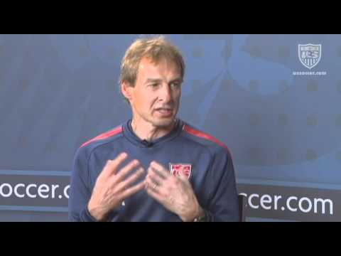 U.S. Soccer Interview with Jurgen Klinsmann: Professional Career Development