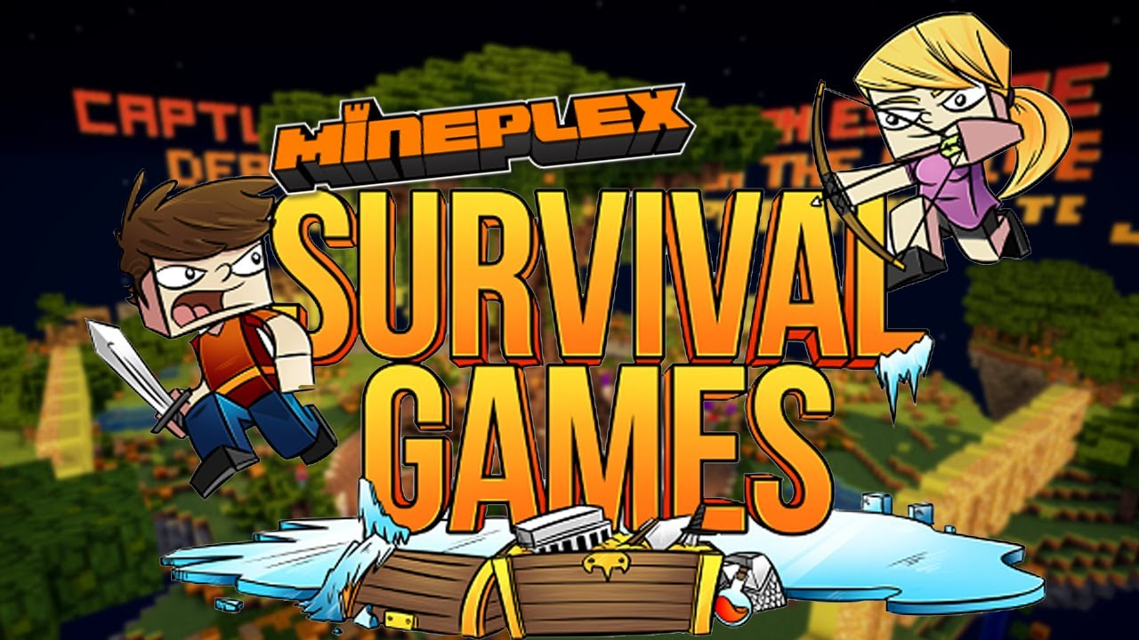 EPIC FAILS! Mineplex Survival Games -Part 1 - YouTube