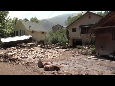 Manitou Springs flooding the