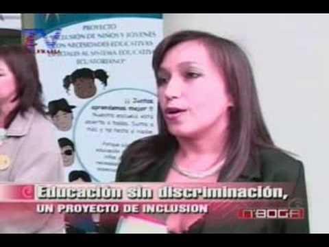 Educación sin discriminación, un proyecto de inclusión