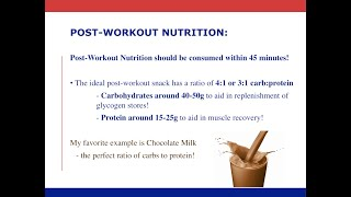 Nutrition: Post-Workout Nutrition for Quarantine Workouts