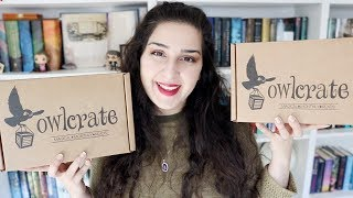 Another Double OwlCrate Unboxing!
