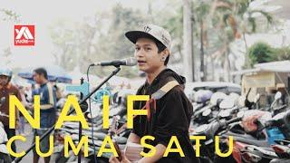 Naif - Karena Kamu Cuma Satu (Cover Pengamen Jalanan Malang) Generasi 90an Wajib Nonton