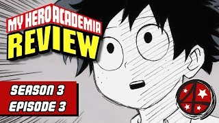 Class B DOES STUFF! Only not really! | My Hero Academia Season 3 Episode 3 REVIEW | Anime FMK