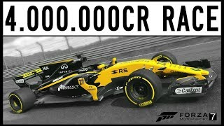 Forza 7 - The 4,000,000cr Race - Insane Money and XP!!