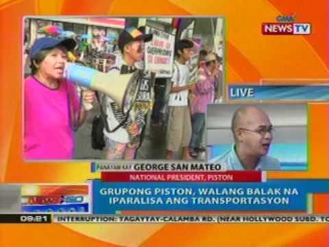NTG: Transport caravan kontra   oil price hike, tuloy bukas