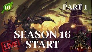 Diablo 3 - Season 16: The Season of Grandeur / playing Demon Hunter part 1 of 2 (24 hours)