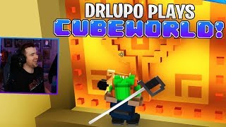 DrLupo Plays Cubeworld! (25 Minutes of Gameplay)