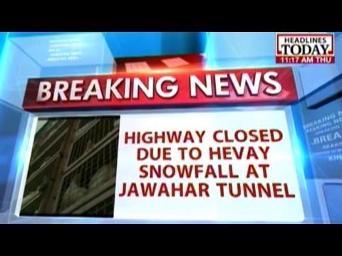 300-km-long Jammu-Srinagar national highway closed due to heavy snowfall