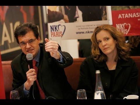 Conférence de Presse Nathalie Kosciusko-Morizet et Atanase Perifan Pacte solidaire à Paris