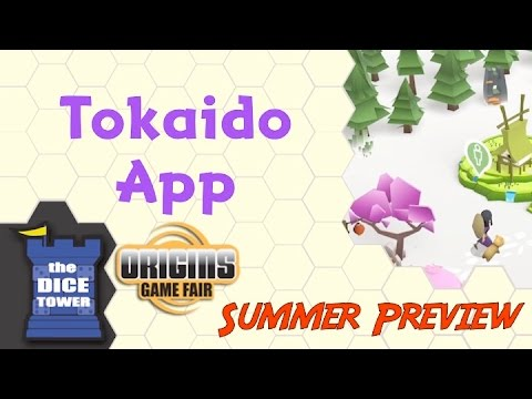 Origins Summer Preview: Tokaido App