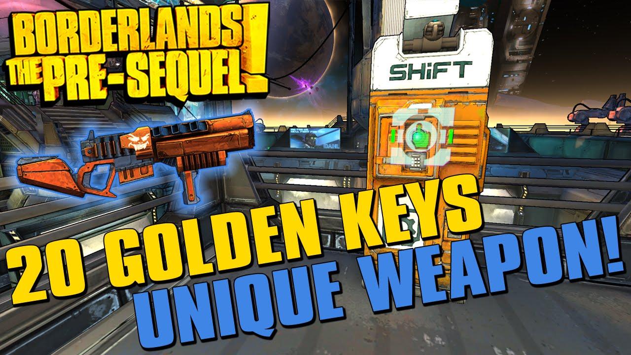 Borderlands The Pre-Sequel Limited Edition Weapon SHiFT ... Borderlands Pre Sequel Shift Codes
