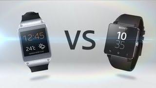 Samsung Galaxy Gear Vs. Sony SmartWatch 2