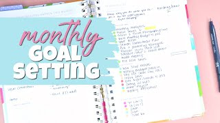 Monthly Goal Setting | My February Powersheets Tending List!