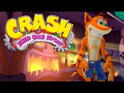 CRASH MIND OVER MUTANT #1 - GAMEPLAY DO INÍCIO