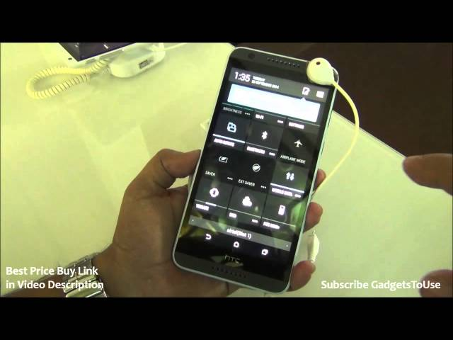HTC Desire 820 India Hands on, Review, Camera, Features, Price and Overview HD