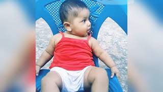 Arshiya | Baby girl | Funny Baby | When she is in good mood ❤