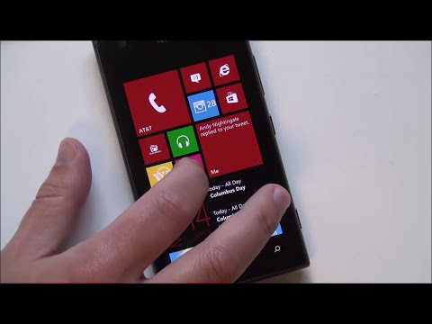 Windows Phone 8 Update 3 (GDR3) Tour - Build 10512