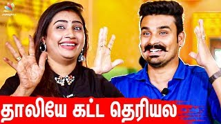 Daily HoneyMoon தான் 💕| Myna Nandhini Yogeshwaran First Interview After Marriage | Vijay Tv