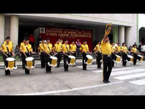 Banda de Guerra Escorpiones 212 - 2da Copa Legión Ixtaczoquitlan