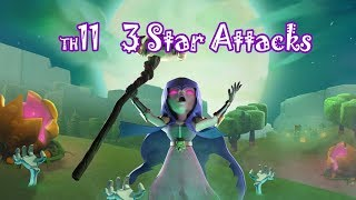 20180107 town hall 11 attack / 3 Star Attack Strategy / Clash of Clans / 11홀 3별 전략
