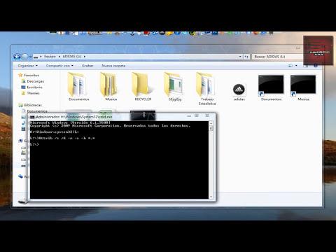 ELIMINAR TODOS LOS VIRUS DE MEMORIAS USB (Recycler, carpetas negras, etc)