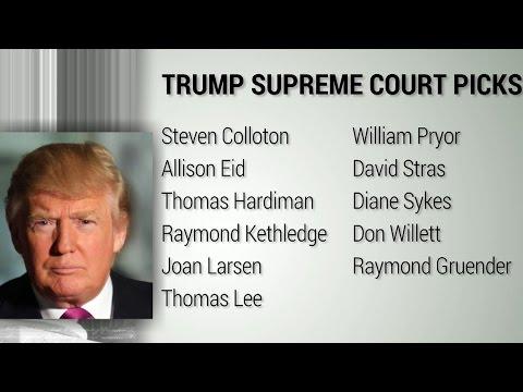 Who are Donald Trump's Supreme Court picks?