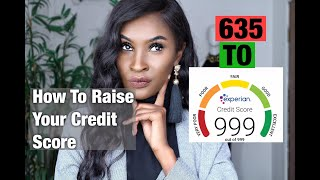 How To Raise YOUR Credit Score UK! 500 to 999 Experian