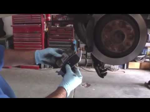 Replacing Rear Brake Pads On 2003 Dodge Ram 1500