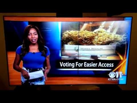 Epic: How to quit like a BOSS! KTVA reporter drops the F-Bomb and just walks off.