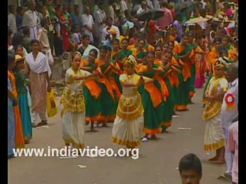 Prelude to Onam - Athachamayam at Thripunithura