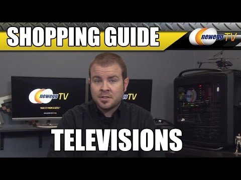 Television Buying Guide - HDTV, 4K and LED LCD Panel Technology