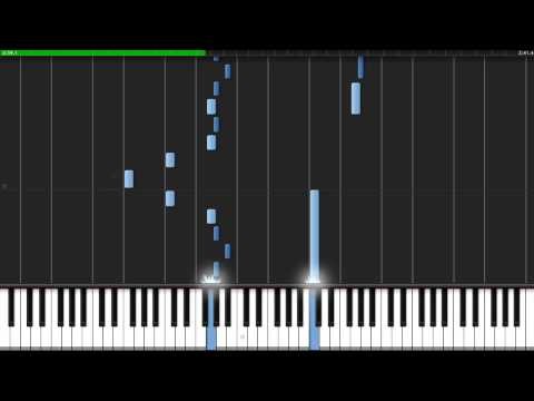 Halo 3 ODST Another Rain Piano Tutorial (Synthesia)