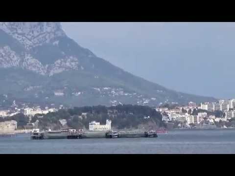 Vue sur la mer a Sablettes, environ de Toulon
