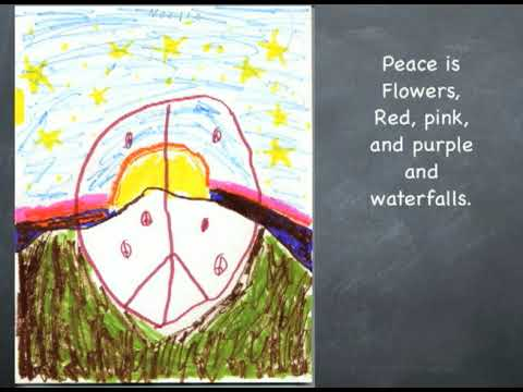 TCS 3rd Grade Peace Poems