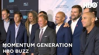HBO Buzz w/ Kelly Slater, Shane Dorian & More | Momentum Generation