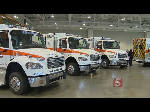 7 New Ambulances Increase Number Of Teams Covering Nashville