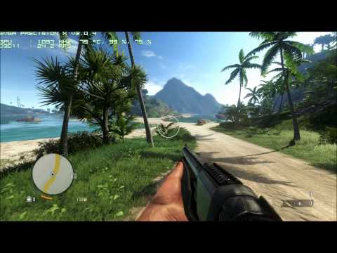 Far Cry 3  tirando o Maximo do meu PC