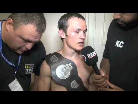 IAN BAILEY POST-FIGHT INTERVIEW FOR iFILM LONDON / BAILEY v PETTITT