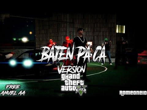 Bajen Pa' Ca (Version GTA) - Anuel AA x Noriel x Bryant Myers (GTA V) (GTA ONLINE)