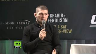 'I don't give a s*** about Conor': Khabib Nurmagomedov Q&A session (FULL VIDEO)