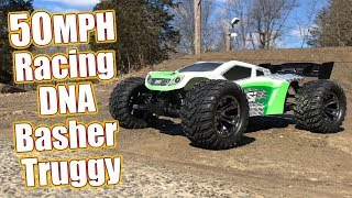 50MPH 4WD Electric Truggy With Racing DNA - Losi Tenacity-T 1/10-Scale Truggy RTR Review | RC Driver