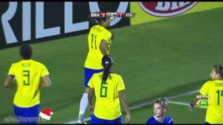 Gols - Brasil 5 x 1 Itália - Torneio Internacional Cidade de São Paulo - Band HD