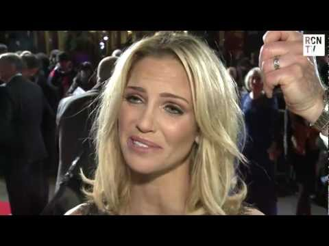Sarah Harding Interview Run For Your Wife World Premiere