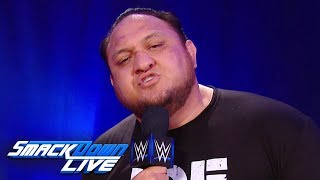 Samoa Joe calls out the King of the Ring field: SmackDown LIVE, Sept. 3, 2019