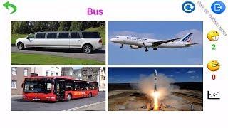 Dạy bé học giỏi | Em tập nói tiếng anh các phương tiện đường bộ, thủy, hàng không | Learning vehicle