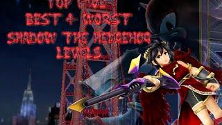 Top Five Best & Worst Shadow the Hedgehog Levels